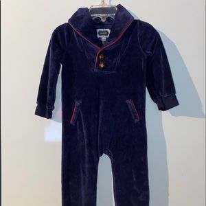 Mud Pie Soft One Piece Outfit With Patch Elbows
